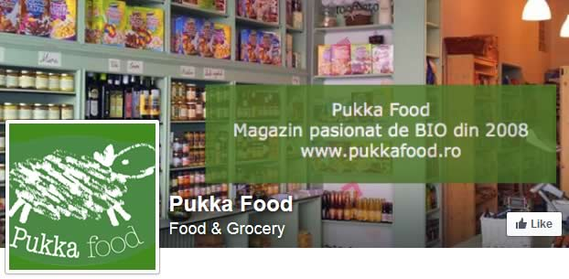 Cauta-ne pe Facebook - Pukka Food!
