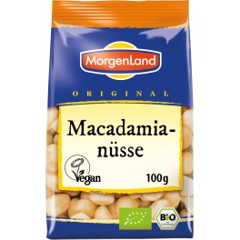 Morgenland nuci de macadamia, neprajite, 100 gr