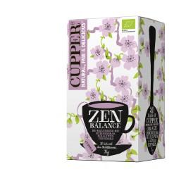 Cupper Ceai Zen Balance, 1,5 gr, 20 pliculete