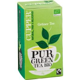 Cupper Ceai verde 1,75 gr, 20 pliculete