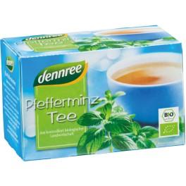 Ceai cu menta DENNREE, 1,5 gr, 20 pliculete