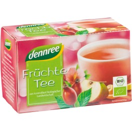 DENNREE Ceai cu fructe 1,5 gr, 20 pliculete