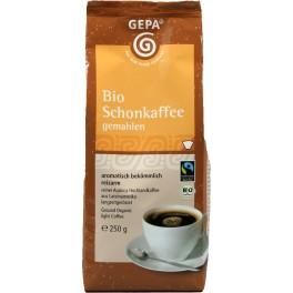 Cafea decafeinizata Gepa, macinata, 250 gr