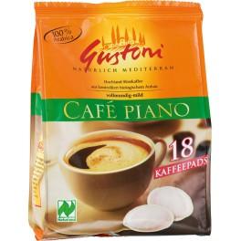 Cafea piano Gustoni Cafe, pliculete de cafea (18x7gr), 126 gr Pa