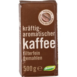 Cafea prajita DENNREE, macinata, pachet de 500 gr