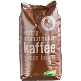 Cafea prajita DENNREE, boabe intregi, pachet de 1 kg