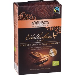 Cacao fina NATURATA, grasimi reduse, pachet de 125 grame