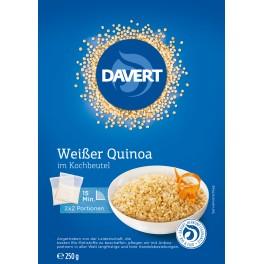Davert Quinoa alba in punga de gatit, pachet de 250 gr