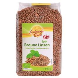 Antersdorfer Muhle - Linte bruna 500 gr