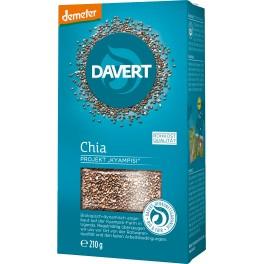 Davert Demeter Seminte de Chia, 210 grame ambalaj
