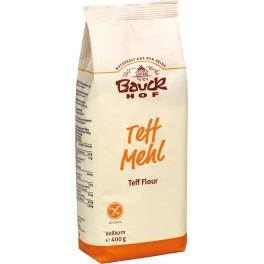 Bauck Hof - faina de Teff, deschisa, 400 gr, fara gluten