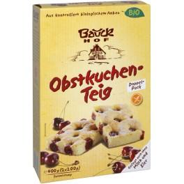 Bauck Hof -  Mix prajitura cu fructe 400 gr, fara gluten