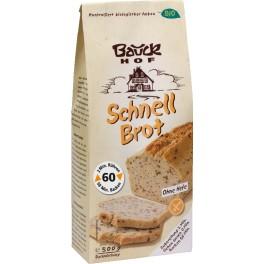 Bauck Hof - Paine rapida 500 gr, fara gluten