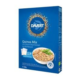 Davert Mix de quinoa cu mei si hrisca in punga de gatit