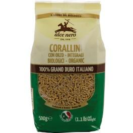 Alce Nero Paste Corallini cu orz, 500 grame