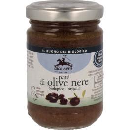 Alce Nero Pasta din masline negre, 130 gr
