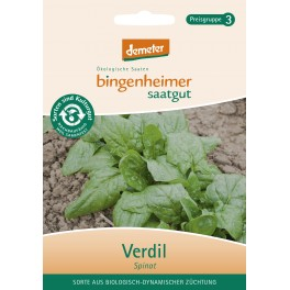 Bingenheimer seminte spanac Verdil, 25 gr