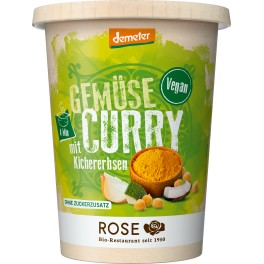 Rose Biomanufaktur vegan curry cu legume, 400 gr