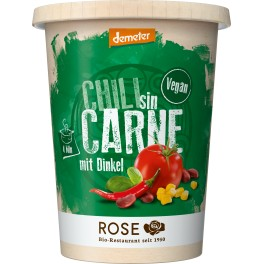 Rose Biomanufaktur vegan Chili fara carne, 400 ml