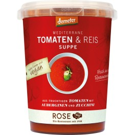 Rose Biomanufaktur supa mediteraneana de rosii si orez
