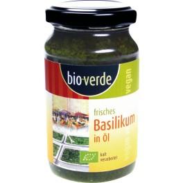Bio-verde - busuioc proaspat in ulei, 165 gr
