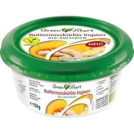 GreenHeart crema tartinabila cu dovleac si ghimbir, 150gr