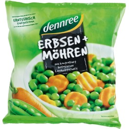 Mazare DENNREE si morcovi, 450 gr sac