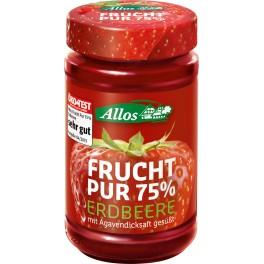 Allos Frucht Pur 75% - capsuni, 250 gr