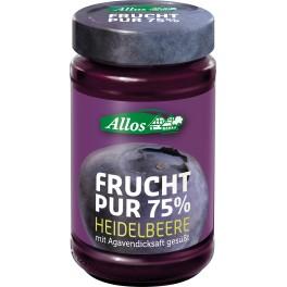 Allos Frucht Pur 75% - coacaze, 250 gr