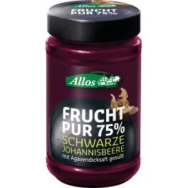 Allos Frucht Pur 75% - Afine 250 gr