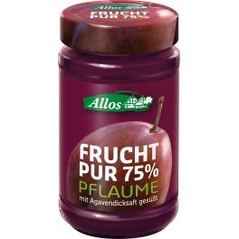 Allos Frucht Pur 75% - prune, 250 gr