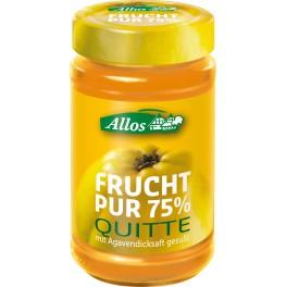 Allos Frucht Pur 75% - gutuie, 250 gr