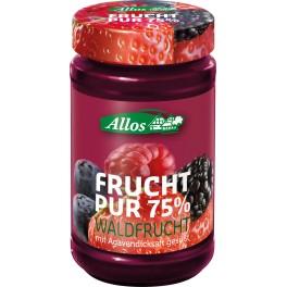 Allos Frucht Pur 75% - fructe de padure, 250 gr