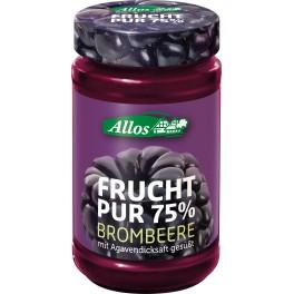 Allos Frucht Pur 75% - mure, 250 gr
