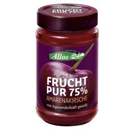 Allos Frucht Pur 75% - Cirese amare, 250 gr