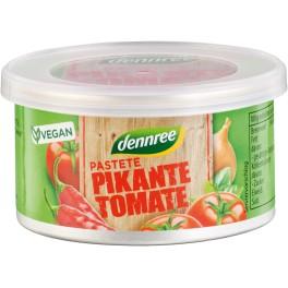 DENNREE pate cu rosii picante, 125 gr