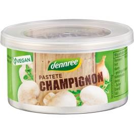 DENNREE Pate din ciuperci champignon, 125 grame