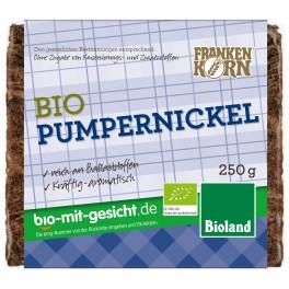 Frankenk paine de secara Pumpernickel, 250 grame ambalaj