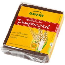 Davert Paine de secara Pumpernickel, 250 grame ambalaj