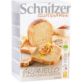 Schnitzer paine Granello cu floarea soarelui 500 gr