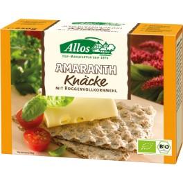 Allos Crackers integrali cu amarant, 250 gr