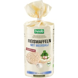 Byodo - Vafe de orez cu sare de mare, fara gluten, 100 gr
