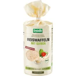 Byodo - Vafe de orez cu quinoa, fara gluten, 100 gr