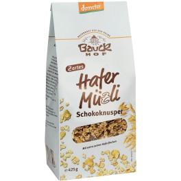 Bauck Hof - Musli din ovaz cu ciocolata, 425 gr