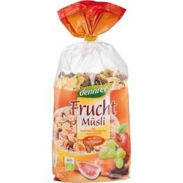 DENNREE Musli cu fructe, 750 grame ambalaj