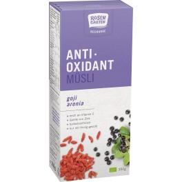 Rosengarten - Musli antioxidant cu fructe goji si aronia
