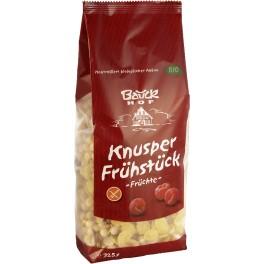 Bauck Hof - mic dejun crocant - fructe 325 gr