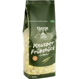 Bauck Hof - mic dejun crocant - 3-cereale, 225 gr