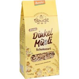 Bauck Hof - Musli cu alac si ciocolata fina, 425 gr