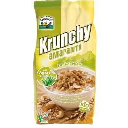 Barnhouse Krunchy - Cereale din amarant cu alac si nuci 375 gr